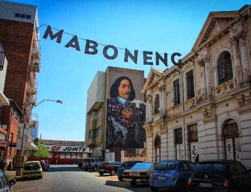 Maboneng, one of the coolest  neighbourhoods in the world!