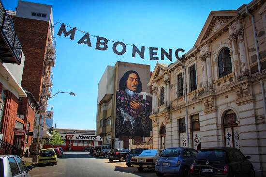 Maboneng, one of the coolest  neighbourhoods in the world!